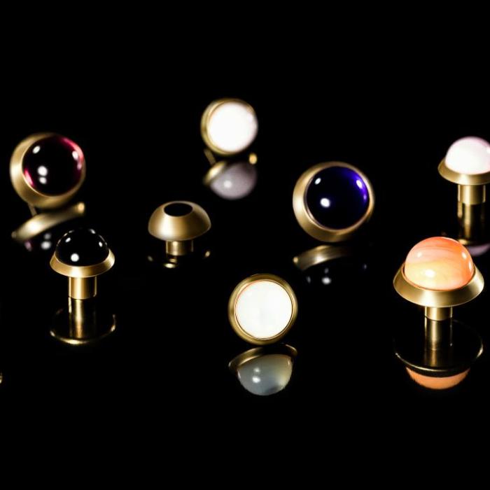 Industrie du luxe - Cabochons - Groupe Rubis Précis