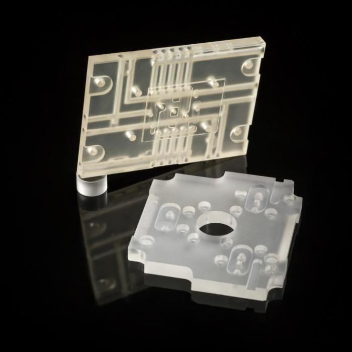 Semi-conducteur - Support outil Zerodur® - Groupe Rubis Précis