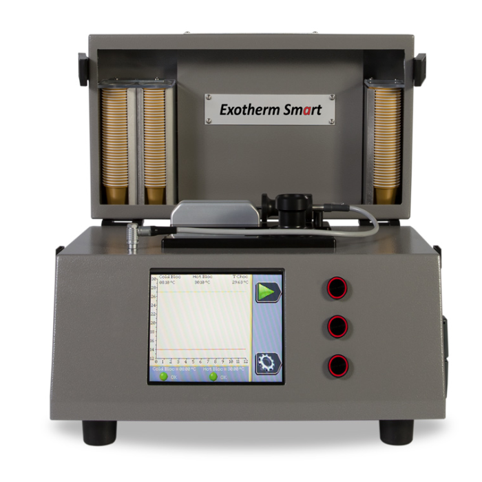 EXOTHERM SMART - Tempermeter : measure of the crystallization rate - Statice Tempering