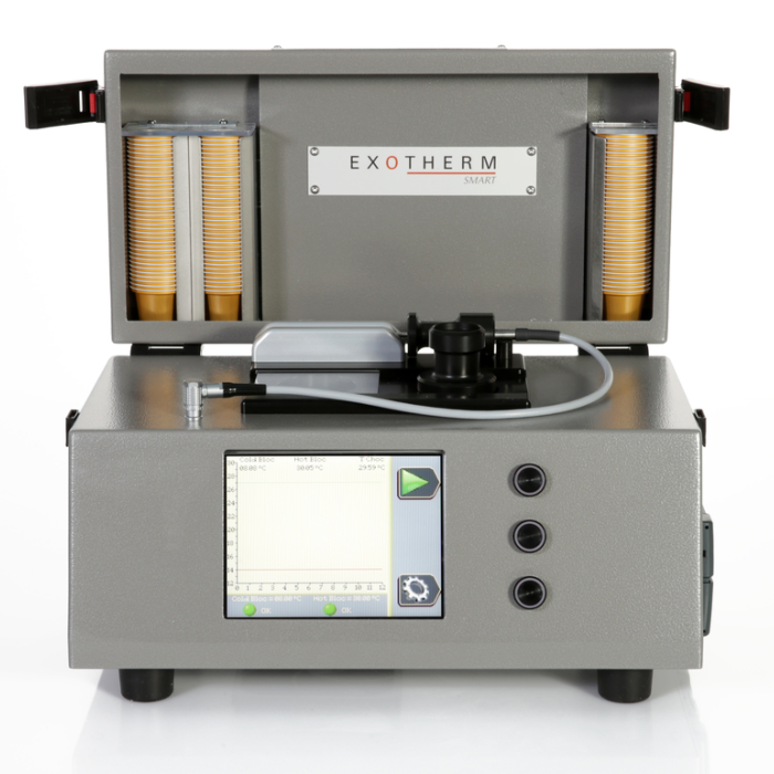 EXOTHERM SMART,  industrial - tempermeter chocolate cristallization - Statice Tempering