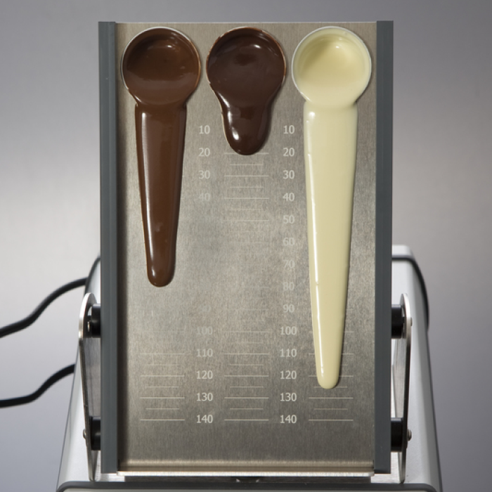 Chocolate Makers,  industrial, MAGIC RHEO - viscosity flow rate flow velocity chocolate - Statice Tempering