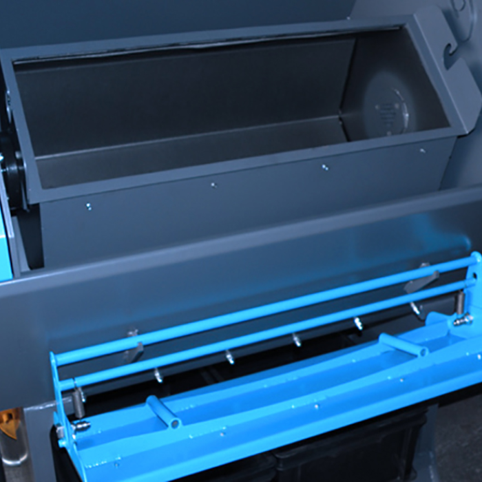 Ebavurage en tonneau - Cuve DIABOLO - SPK Solutions
