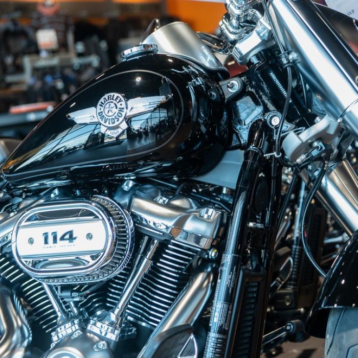 La concession, La concession - Showroom - Harley-Davidson Dijon