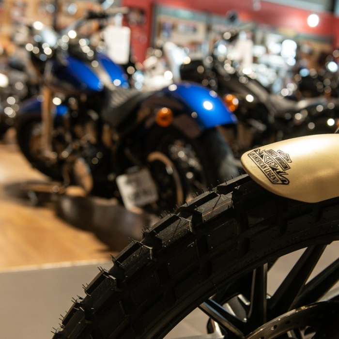 La concession - Showroom - Harley-Davidson Dijon