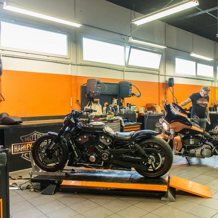 Atelier -  - Harley-Davidson Dijon
