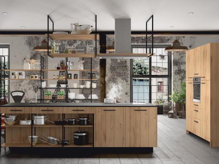 Cuisines - MOREL - Modèle GAIA (design industriel) - VF Cuisines