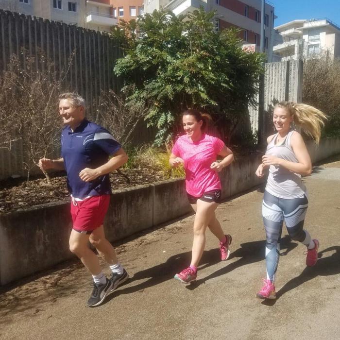 Cross-Training à Besançon - Course à pied Parc Micaud