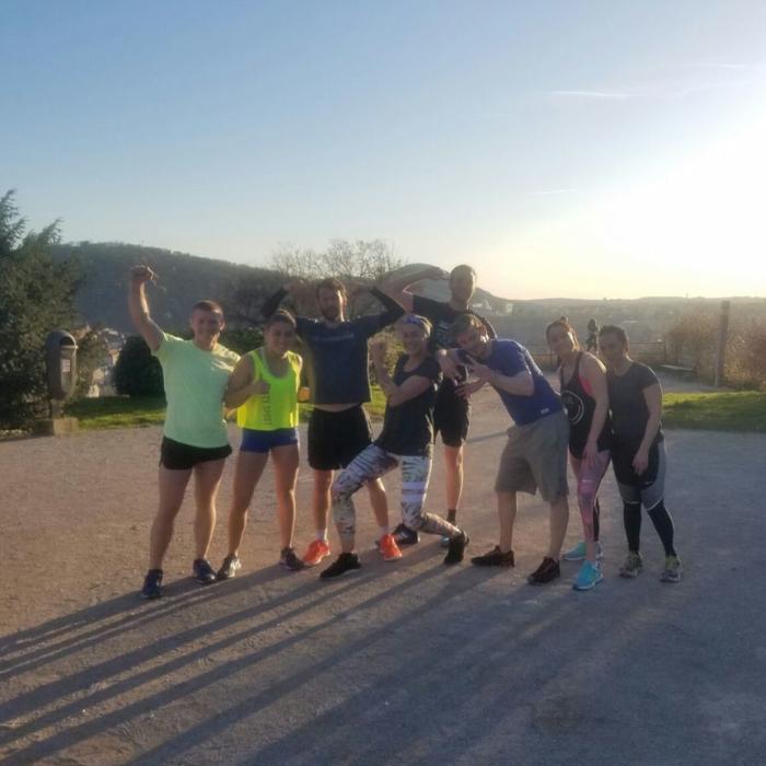 Cross-Training à Besançon - Séance extérieure