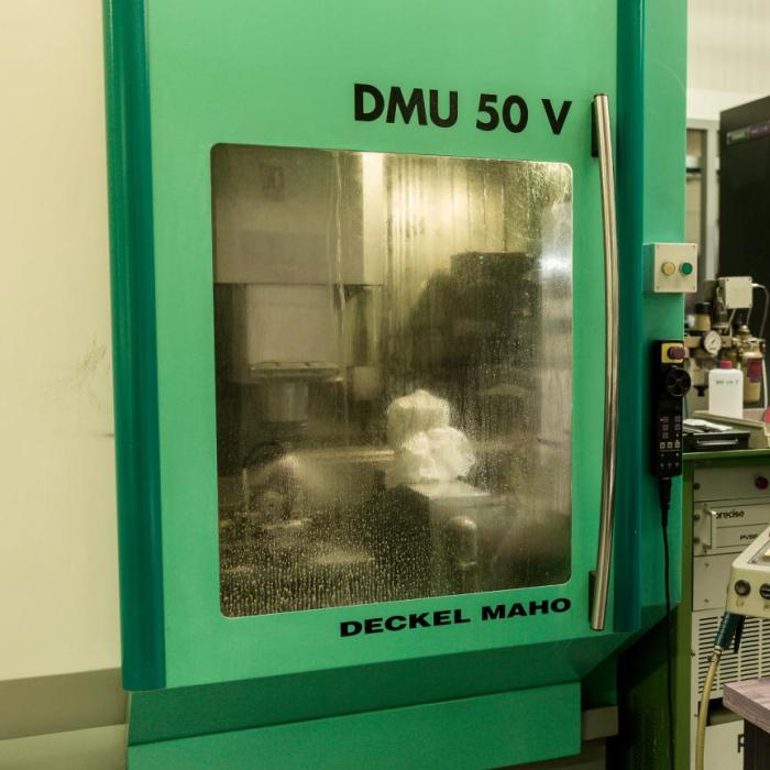 Usinage des céramiques et matériaux durs - DMU 50 V - Groupe Rubis Précis