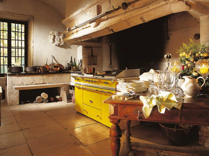 Pianos de cuisson - LACANCHE - Modèle Fontenay  - VF Cuisines