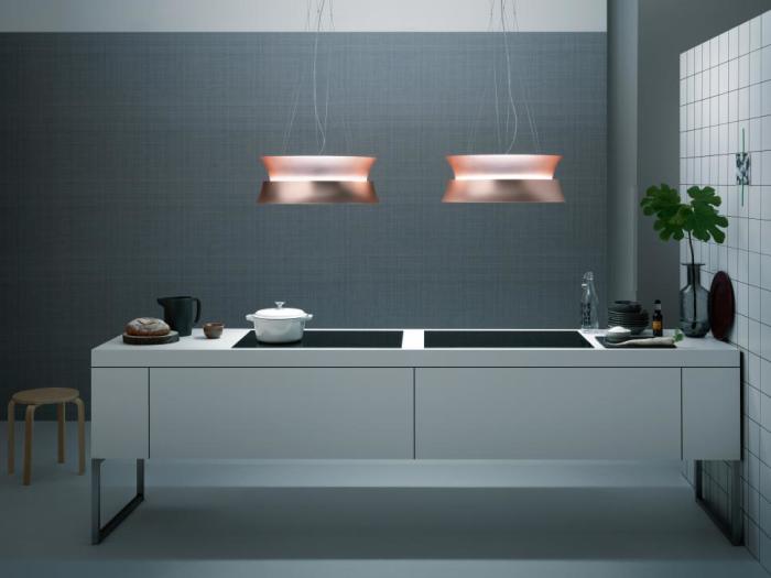 Electroménager - Hottes centrales design - VF Cuisines